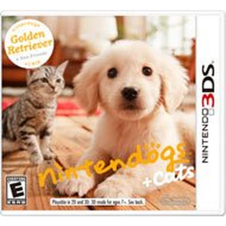 nintendogs + cats: Golden Retriever and New Friends - 3DS