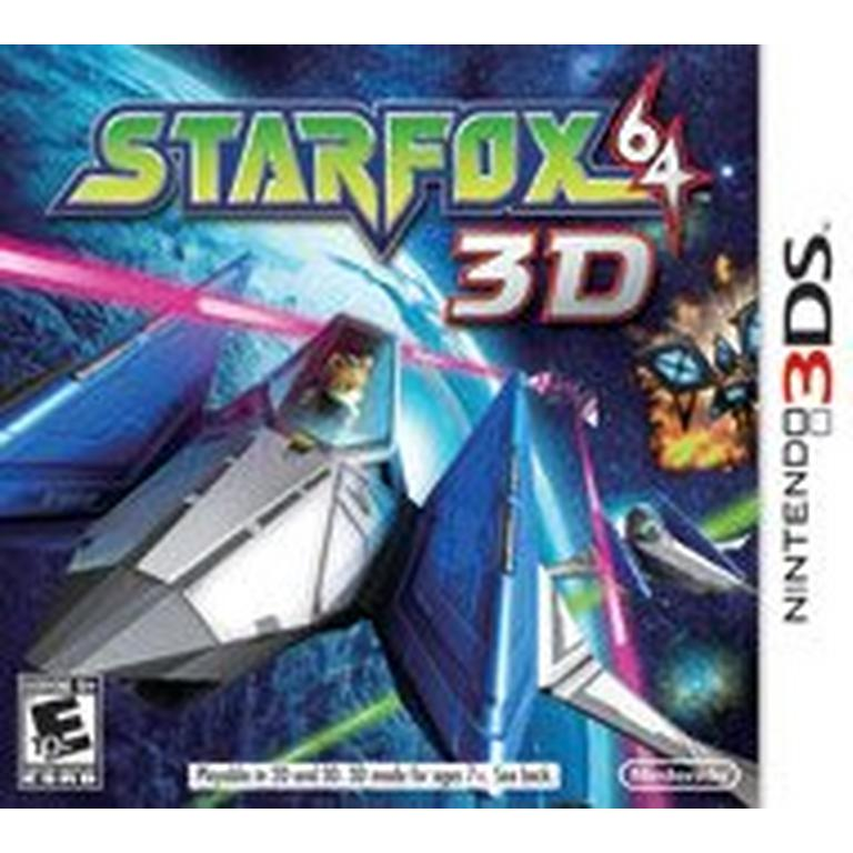 Star Fox 64 - 3DS