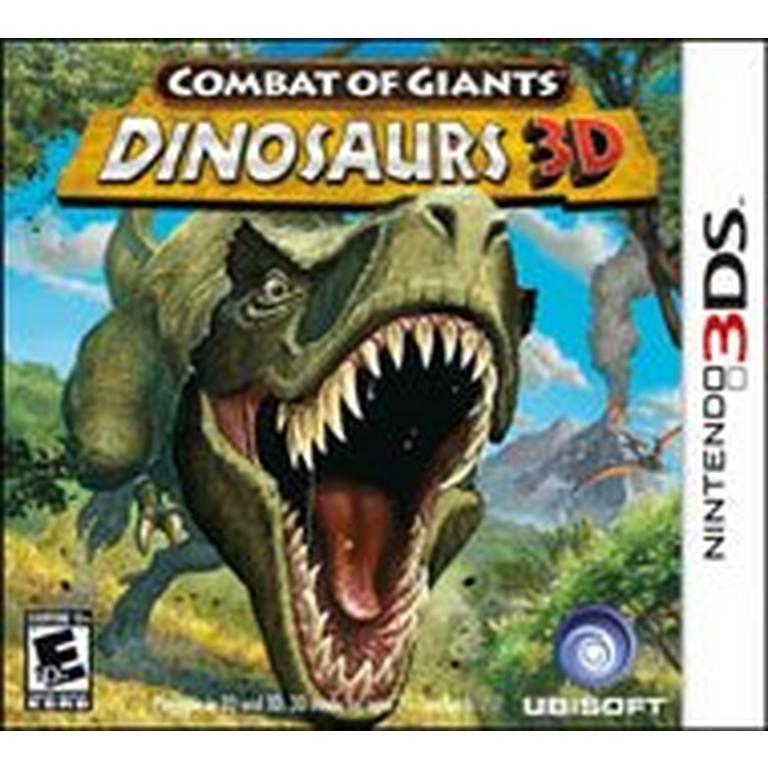 Combat of Giants Dinosaurs 3D - 3DS