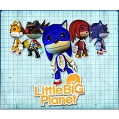 LittleBigPlanet Sonic Costumes and Stickers Kit