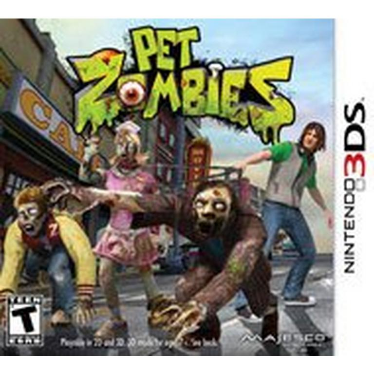 Pet Zombies 3ds Nintendo 3ds Gamestop