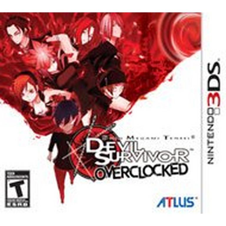 SHIN MEGAMI TENSEI: DEVIL SURVIVOR OVERCLOCKED - 3DS