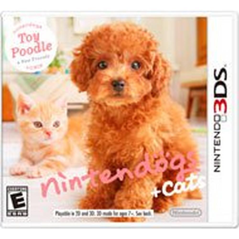 Nintendogs Cats Toy Poodle And New Friends Nintendo 3ds Gamestop