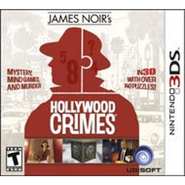 James Noir's Hollywood Crimes - 3DS