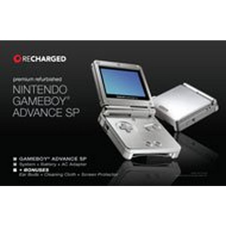 Nintendo Game Boy Advance SP Gray GameStop Premium Refurbished