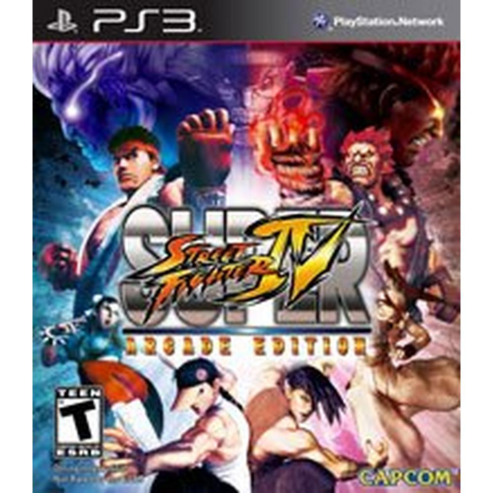 Super Street Fighter Iv Arcade Edition Playstation 3 Gamestop