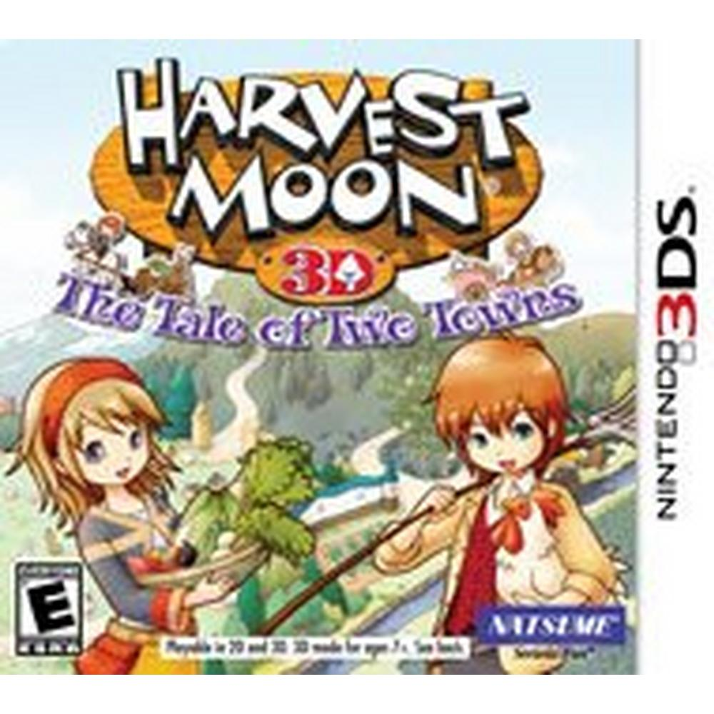 Harvest Moon: The Tale of Two Towns   Nintendo 3DS   GameStop