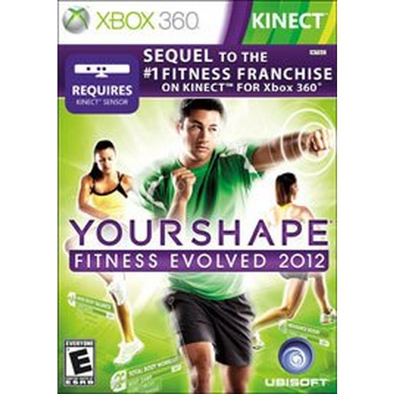 Your Shape: Fitness Evolved 2012 Kinect Compatible (Xbox
