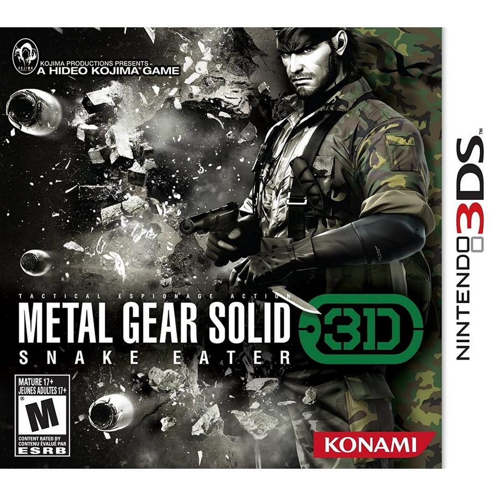 Metal Gear Solid 3D Snake Eater | Nintendo 3DS | GameStop