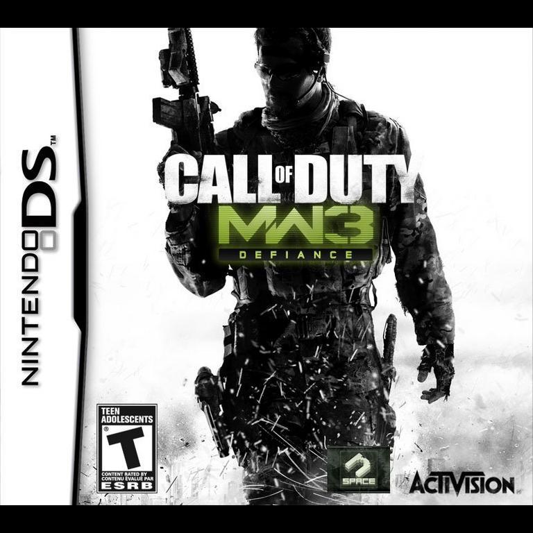 Call Of Duty Modern Warfare 3 Defiance Nintendo Ds Gamestop