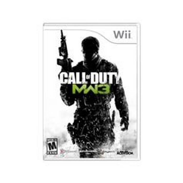 Call Of Duty Modern Warfare 3 Nintendo Wii Gamestop