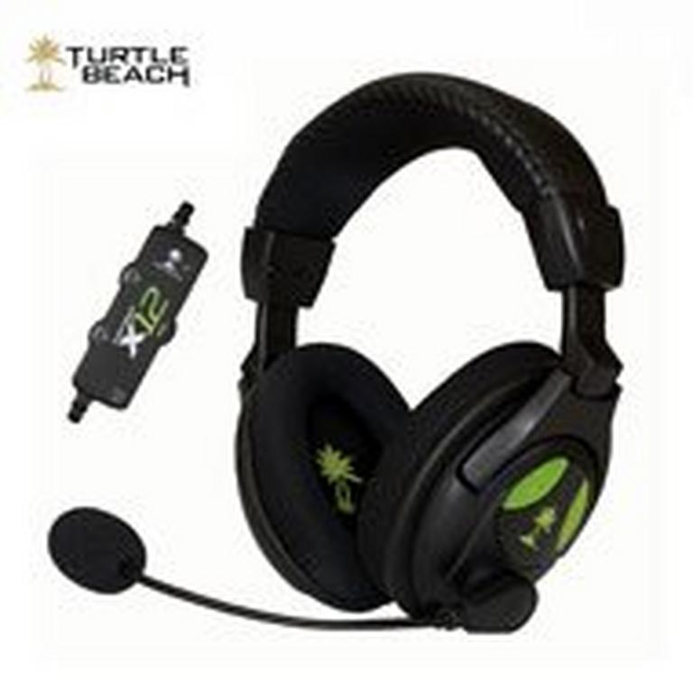 Xbox 360 Ear Force X12 Wired Gaming Headset