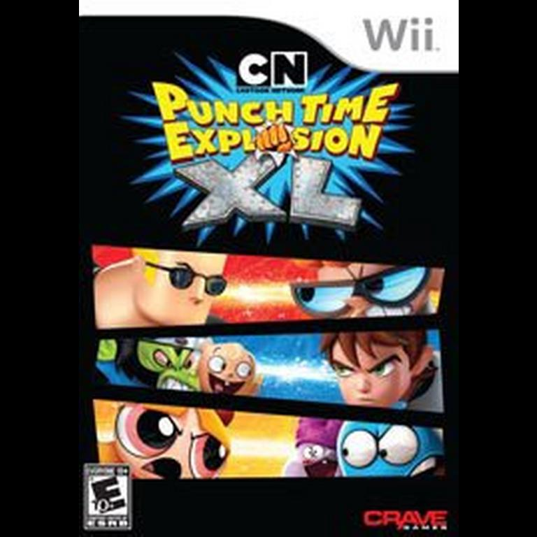 Cartoon Network Punch Time Explosion Xl Nintendo Wii Gamestop