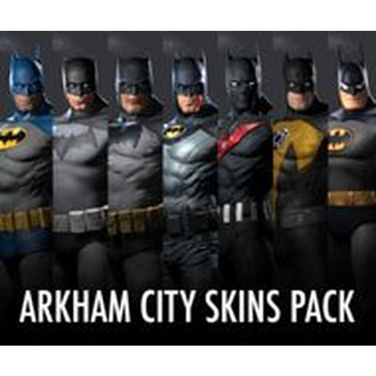 Batman Arkham City Skins Pack