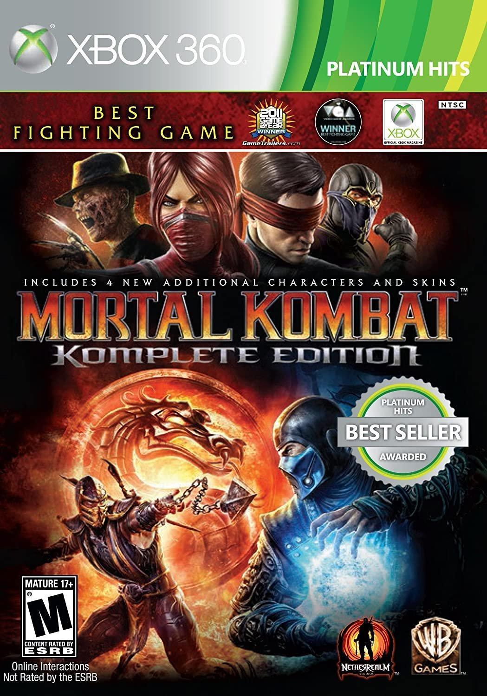 Mortal Kombat Komplete Edition - Xbox 360 - GameStop