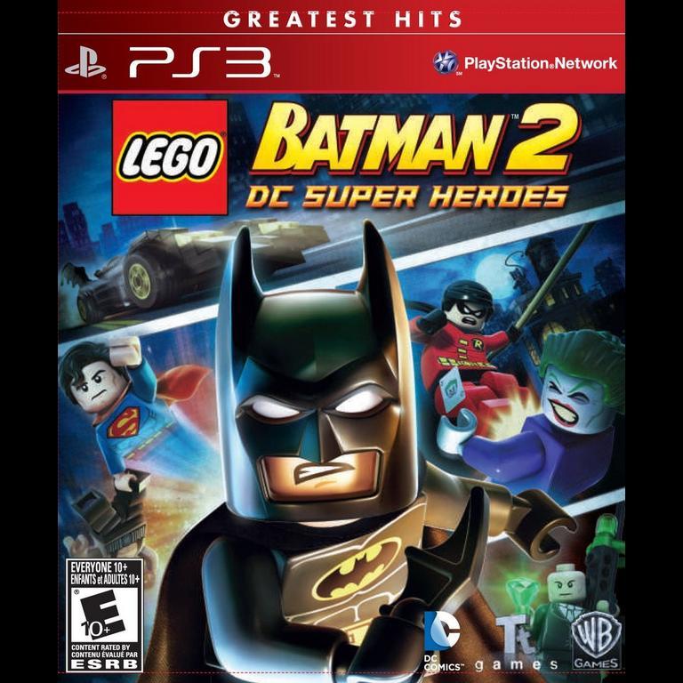 Lego Batman 2 Dc Super Heroes Playstation 3 Gamestop