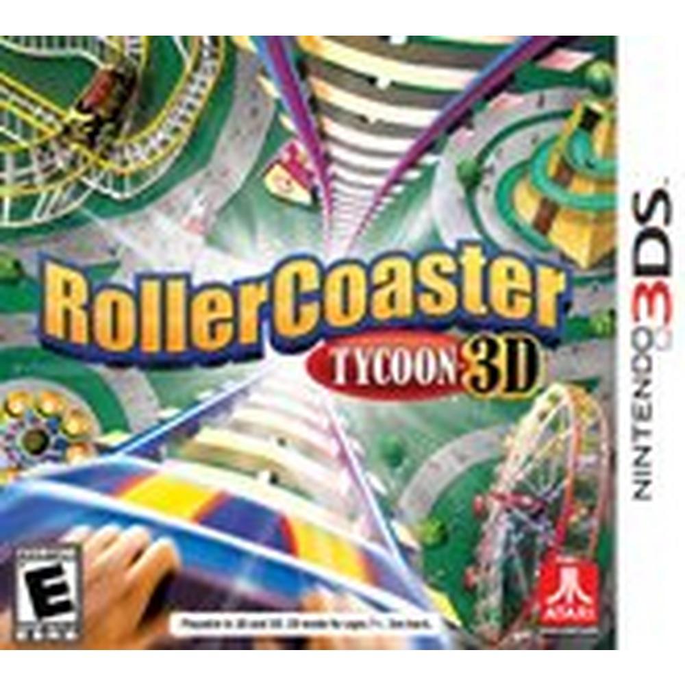 Rollercoaster Tycoon 3D | Nintendo 3DS | GameStop