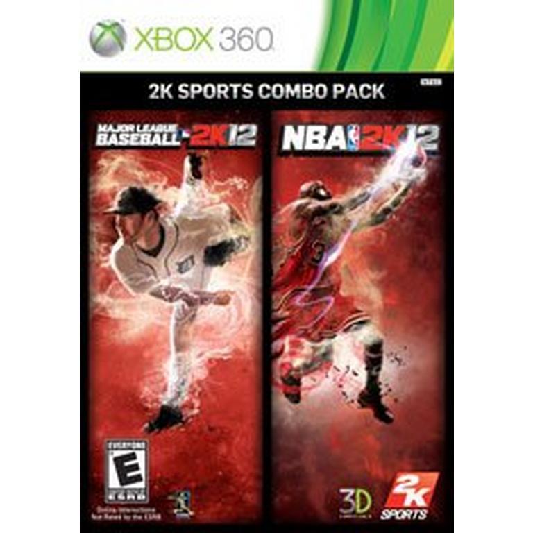 MLB 2K12 and NBA 2K12 2K Sports Combo Pack