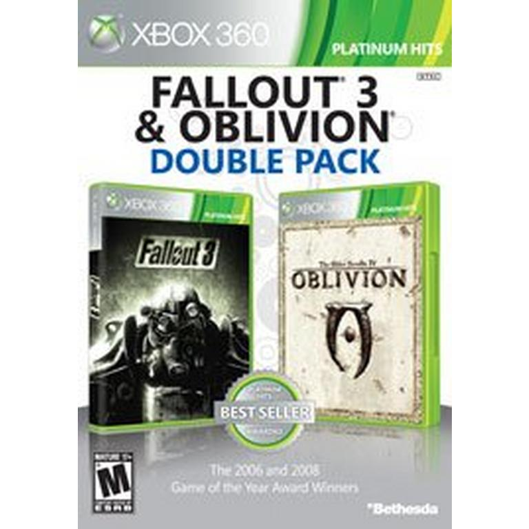 Fallout 3 Oblivion Double Pack