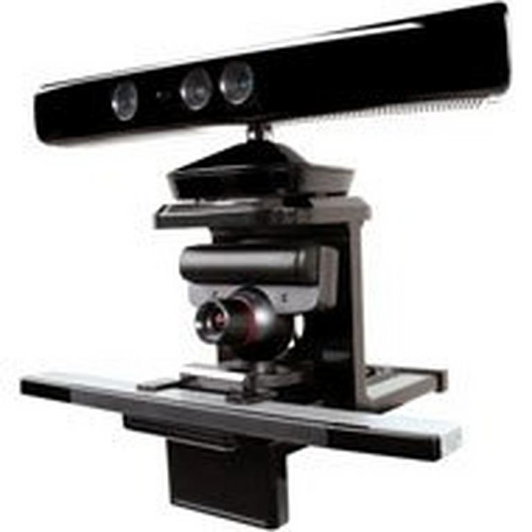 Tri-Mount for Xbox Kinect, PlayStation Move, and Nintendo Wii