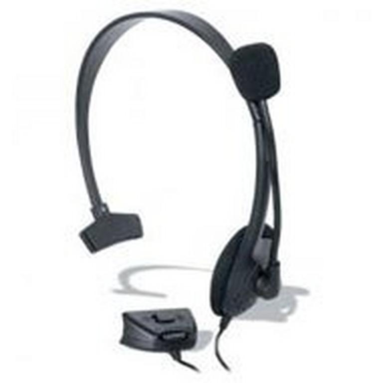 Xbox 360 - R Broadcaster Headset - Black