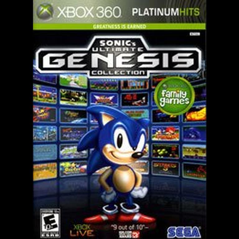 Sonic S Ultimate Genesis Collection Xbox 360 Gamestop