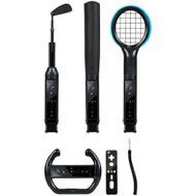 Grand Slam 6 in 1 Wii Sports Pack - Black