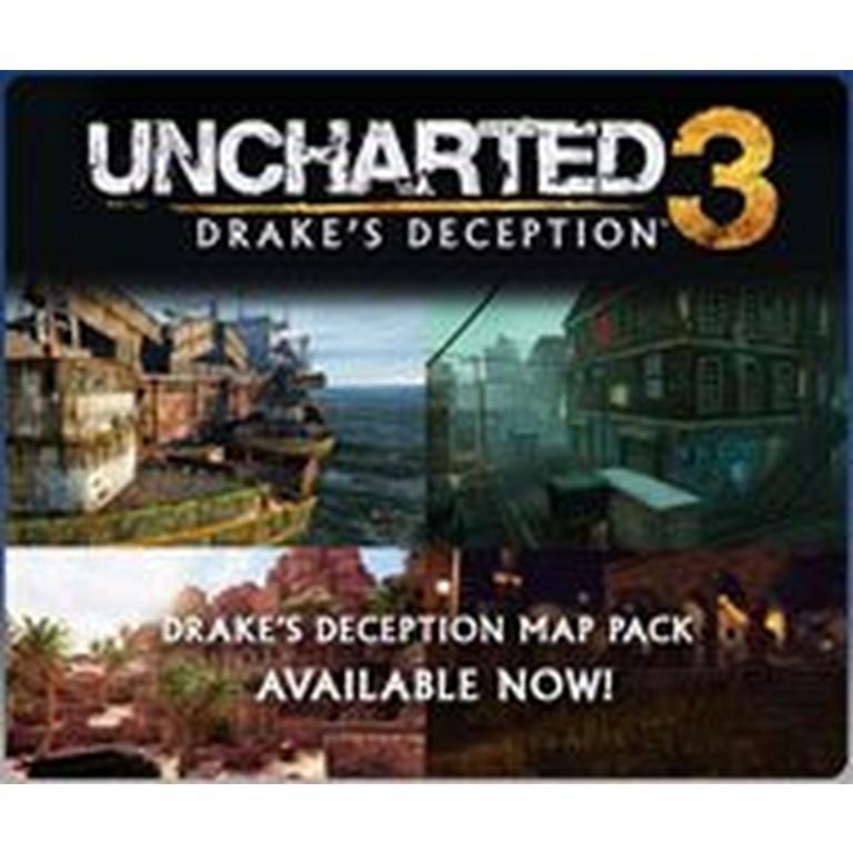UNCHARTED 3: Drake's Deception Drake's Deception Map Pack