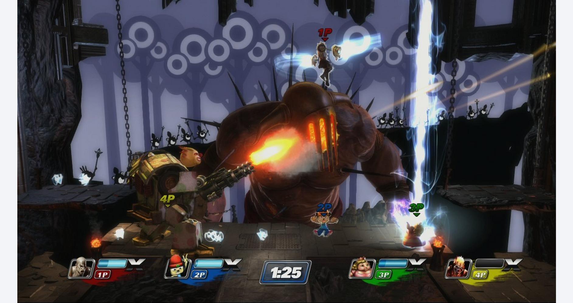 Super Smash Bros Clones - Playstation All Starts Battle Royale