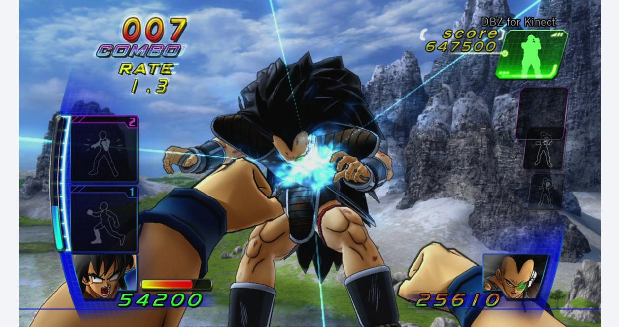 Dragonball Z for Kinect