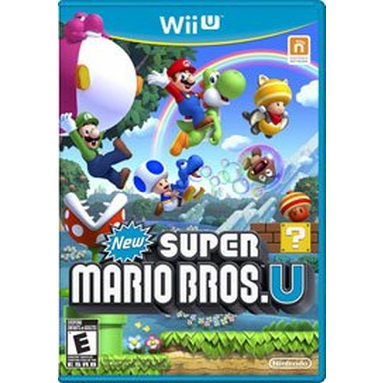 New Super Mario Bros U Nintendo Wii U Gamestop