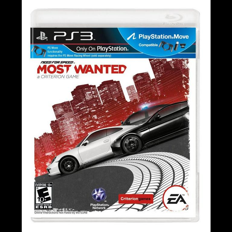 Need For Speed Most Wanted Playstation 3 Gamestop