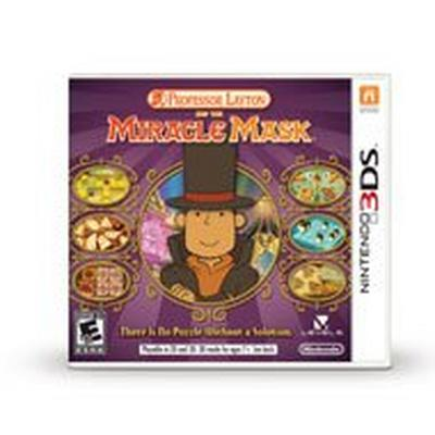 Professor Layton and the MiracleMask