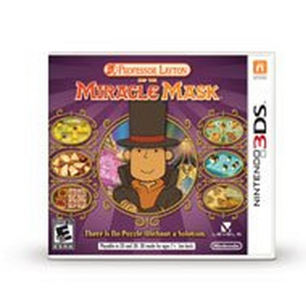 Professor Layton and the MiracleMask | Nintendo 3DS | GameStop