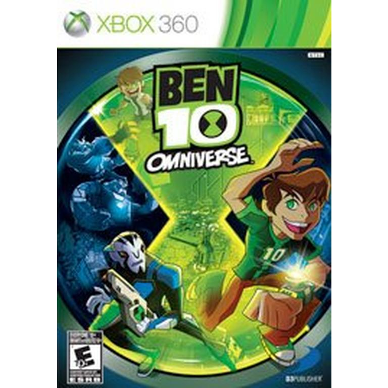 Ben 10 Omniverse The Video Game Xbox 360 Gamestop