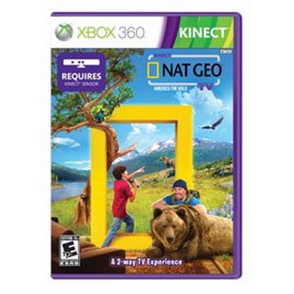 Kinect Nat Geo TV | Xbox 360 | GameStop