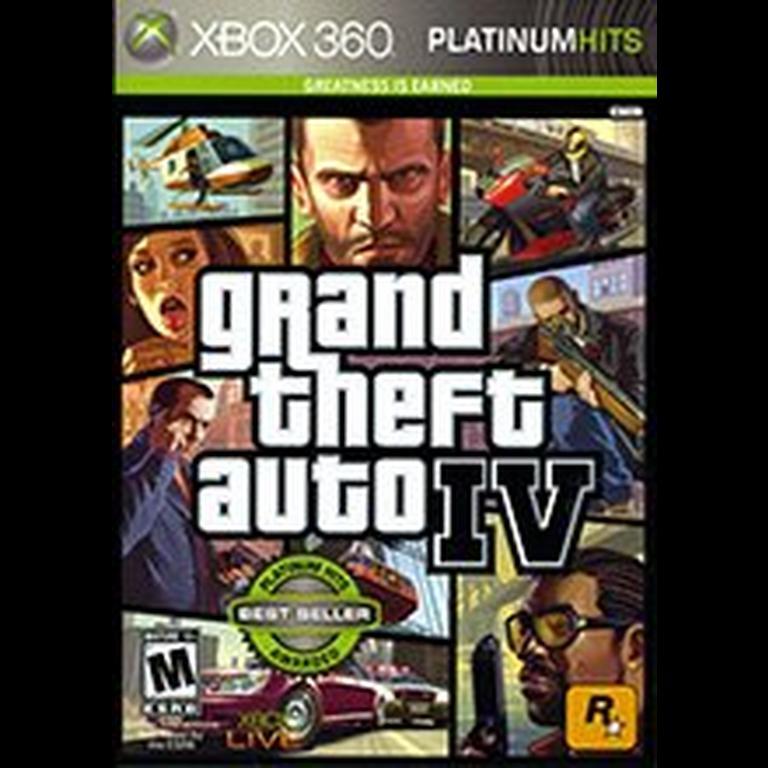 Grand Theft Auto IV Platinum Hits