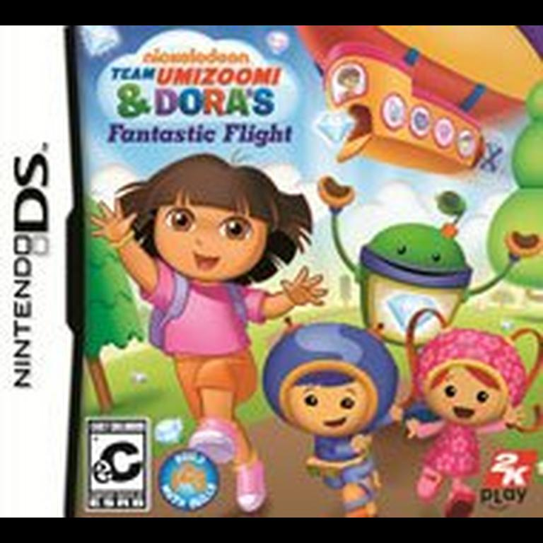 Nickelodeon Team Umizoomi and Dora's Fantastic Flight