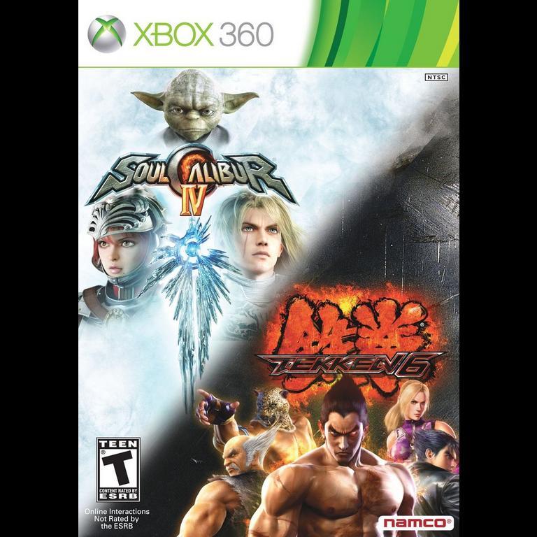Soulcalibur 4 And Tekken 6 Bundle Xbox 360 Gamestop