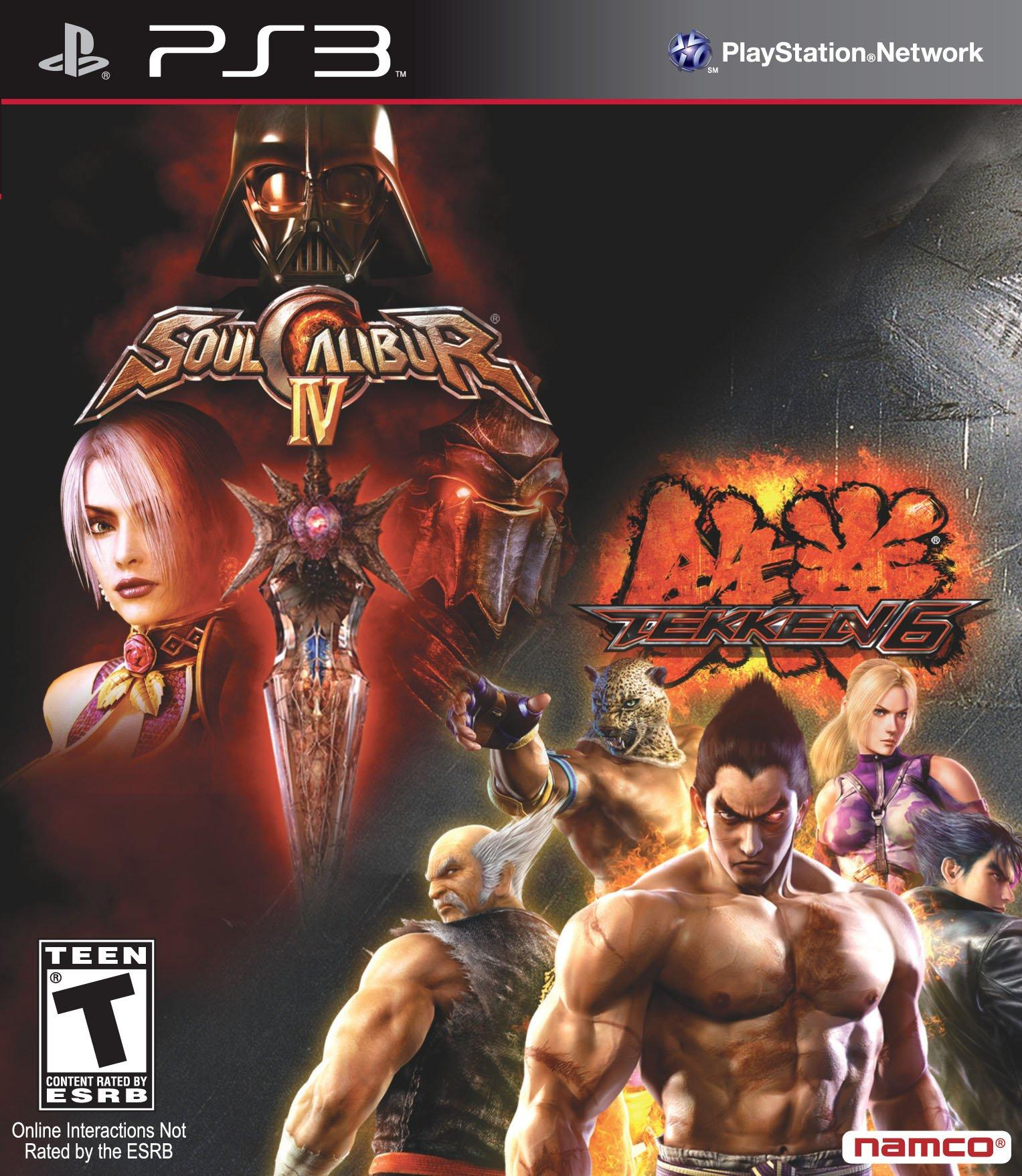 Soulcalibur 4 And Tekken 6 Bundle Playstation 3 Gamestop