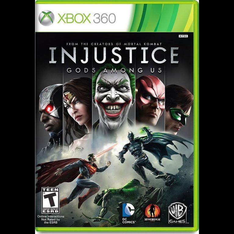 Injustice Gods Among Us Xbox 360 Gamestop