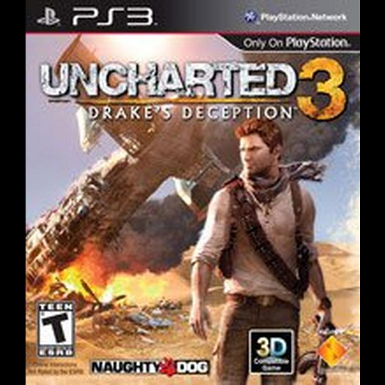 Uncharted 3 Drake S Deception Playstation 3 Gamestop