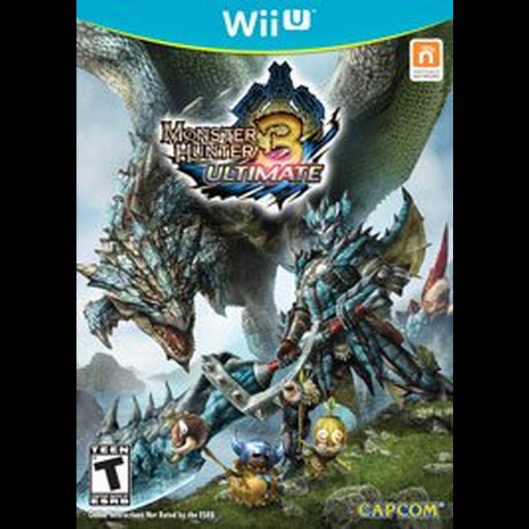 Monster Hunter 3 Ultimate Nintendo Wii U Gamestop