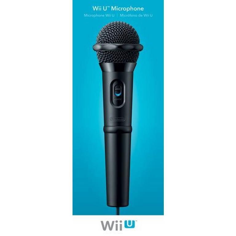 Microphone for Nintendo Wii U
