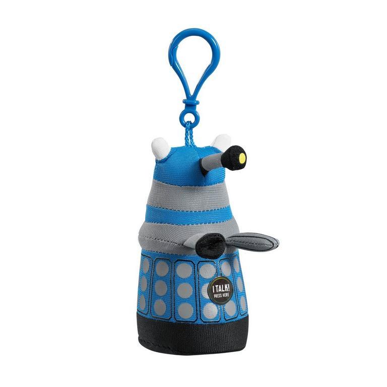 Blue Dalek Backpack Clip