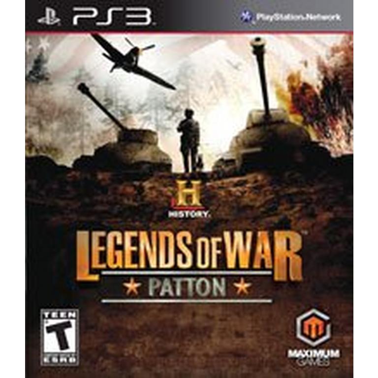 History: Legends of War Patton