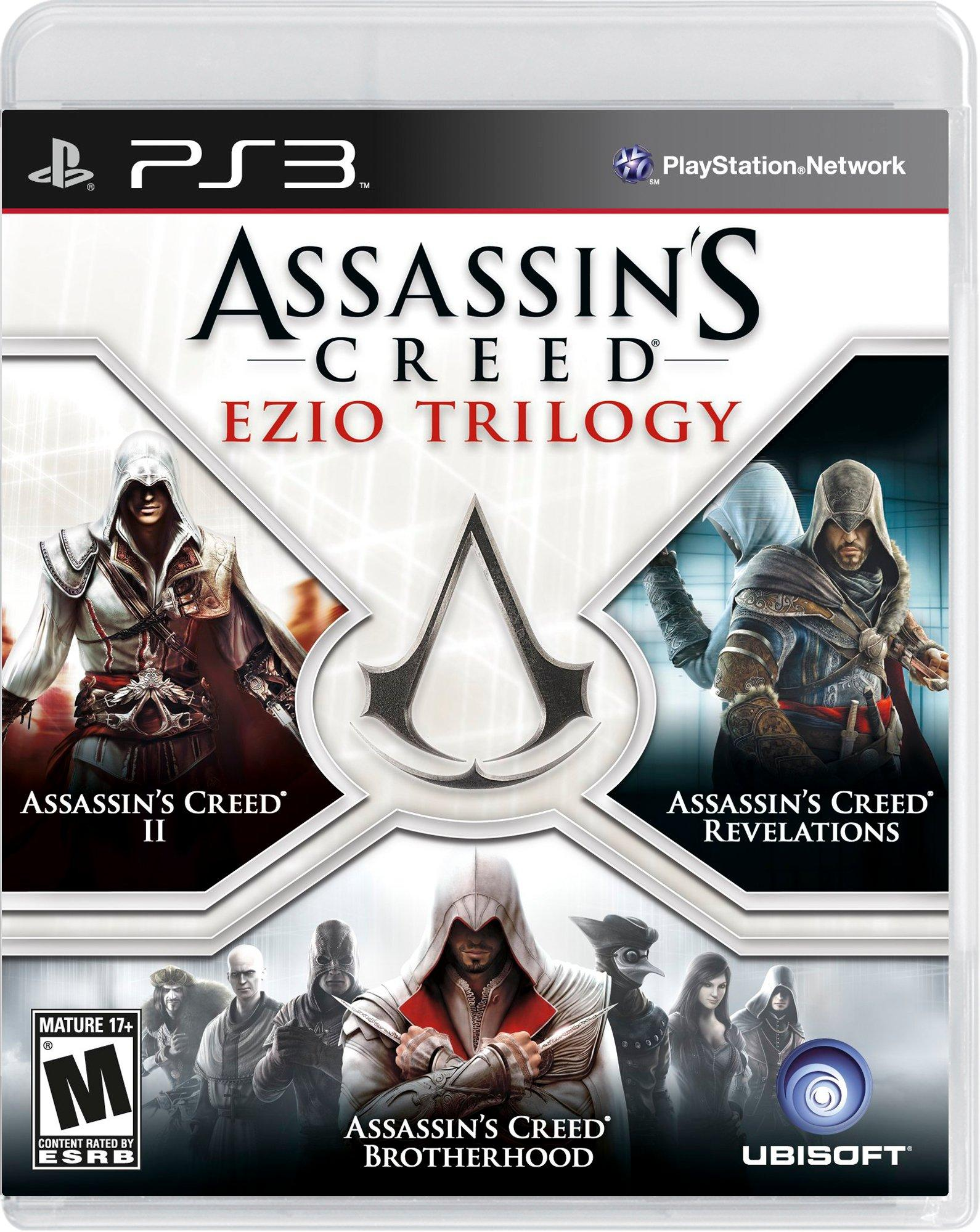 Assassin S Creed Ezio Trilogy Playstation 3 Gamestop