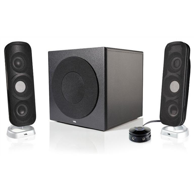 Cyber Acoustics CA-3908 Computer Speaker System Available At GameStop Now!