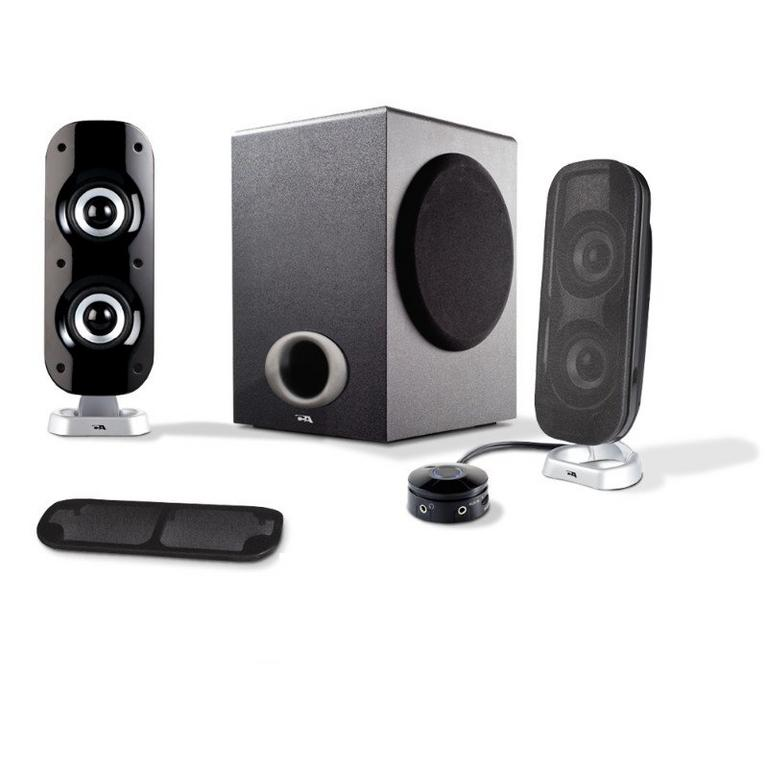 Cyber Acoustics CA-3810 Computer Speaker System Available At GameStop Now!