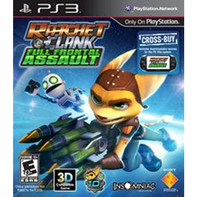 Ratchet And Clank Full Frontal Assault Playstation 3 Gamestop